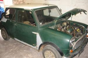 GENUINE 1969 Austin Mini Cooper Mk2 998cc for restoration