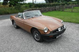 1981 MG B LE Roadster - only 5000 miles since full restoration