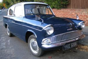 Original Ford Anglia 105E, 1963 Owned for 26 years.  Photo