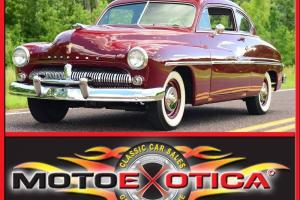 1949 MERCURY COUPE-FRAME OFF RESTORATION-12 VOLT UPGRADE-FLAT HEAD V8-3 SPD CAR!