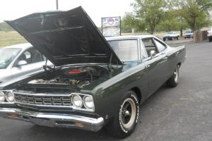 1968 Plymouth Roadrunner Post Car 383 Auto