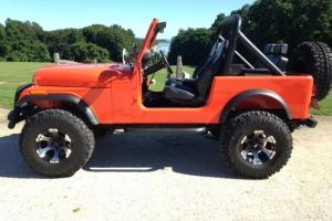 1982 Jeep Cj 7 4x4 restored. 304 v8 3spd