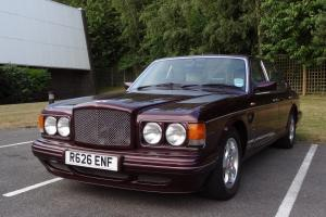 STUNNING 1998 BENTLEY TURBO RT MULLINER WILDBERRY MINT  Photo