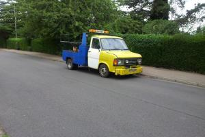 2 FOR THE PRICE OF 1 CLASSIC MK2 TRANSIT SPECLIFT RECOVERY VEHICLES