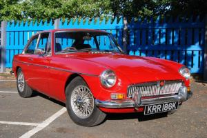 1972 MGB GT, Ivor Searle Engine, Tartan Red, Leather/wood Interior, History