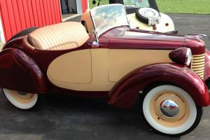Vintage Micro 1939 American Bantam Roadster Photo
