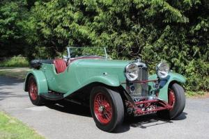 1936 Lagonda 3 Litre Continental Open Tourer  Photo