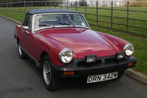 MG Midget 1500 Damask Red 1980 (W Reg) taxed and tested to July, Rostyle wheels