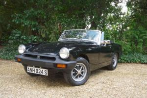 MG Midget 1500cc Manual convertible 4 Speed Sports