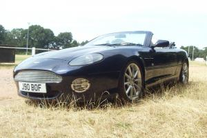 2000 ASTON MARTIN DB7 VANTAGE VOLANTE AUTO ANNTRIM BLUE WITH MAGNOLIA HIDE  Photo