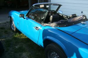 Triumph Spitfire Mk4, 1500 with overdrive, 1981. Convertible