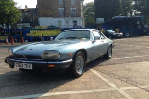 1989 JAGUAR XJS XJ-S HE AUTO BLUE 5.3 V12 BEAUTIFUL CLASSIC RETRO 80 Photo