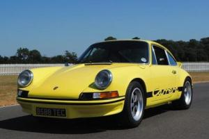 1985 Porsche 911 Carrera to 1973 RS Specification