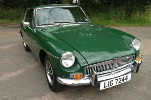 MG B GT 1973 Classic British Sports Car