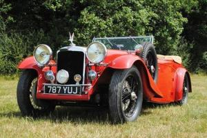 1936 Alvis Silver Eagle Four-seat Open Tourer