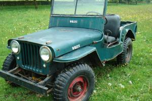 willys jeep CJ2A classic jeep