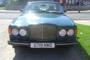 1990 BENTLEY GREEN TURBO R  Photo