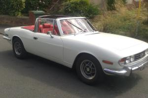 1971 TRIUMPH STAG WHITE  Photo