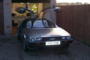 1981 DELOREAN STAINLESS STEEL