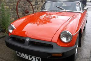 MGB Roadster 1980 Stunning car.