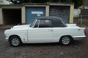 TRIUMPH VITESSE CONVERTIBLE. 1967  Photo