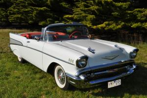 1957 Chevrolet Belair Convertible Completely Original in Melbourne, VIC
