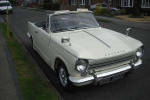 Triumph Herald 13/60 Convertible historic vehicle Born 1968 - TAX EXEMPT