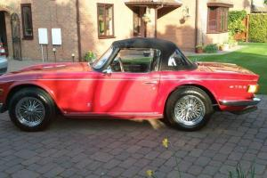 Triumph TR6 August 1973  Photo