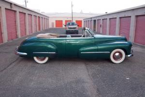 VINTAGE 1946 OLDS CUSTOM CRUISER CONV (OLDS CLUBE SAYS LAST TO EXIST FOR 1946 ).