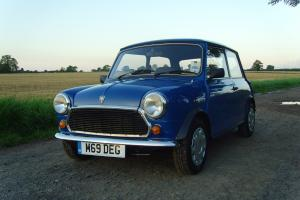 An entertaining Rover Mini Sprite with just 25,099 miles from new