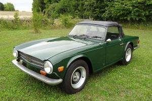 Triumph TR6 1975 Left Hand Drive US Import Good Clean Project 2500cc 6 Clinyder  Photo