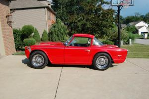 Triumph TR250 TR 250 1968 Supercharged! Photo
