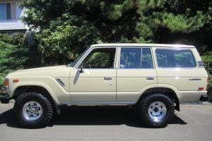 1984 Toyota Land Cruiser Base Sport Utility 4-Door 4.2L