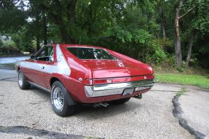 1969 AMC AMX 390 4 speed Go Pack