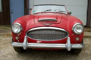 1962 AUSTIN HEALEY 3000 MARK II   TRI CARB.   NEEDS RESTORED Photo