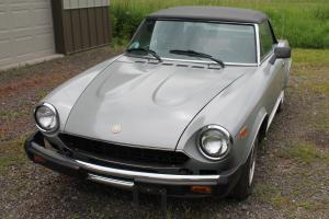 1980 Fiat Spider 2000 Bosch Fuel Injected 50K MILES VERY NICE