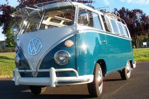 1966 VW Volkswagen 21 window bus