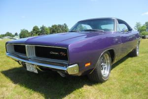 1969 Dodge Charger R/T 6 Pack Plum Crazy