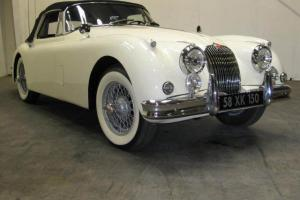 1957 JAGUAR  XK150 DROPHEAD COUPE CONVERTIBLE VERY EARLY PRODUCTION