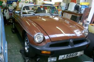 MGB ROADSTER 1978 GENUINE 29500 miles