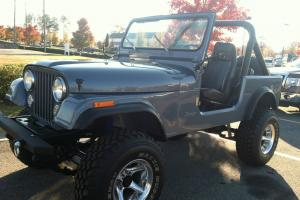 1982 JEEP CJ7 AMC 360 FRAME OFF RESTORATION