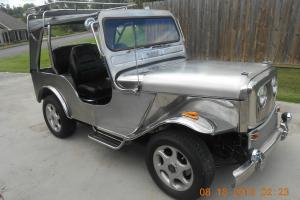 1976 JEEP, CJ-5, STAINLESS STEEL, ONE OF A KIND