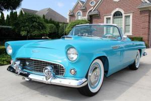 1956 Ford Thunderbird Convertible GORGEOUS RESTORED WOW