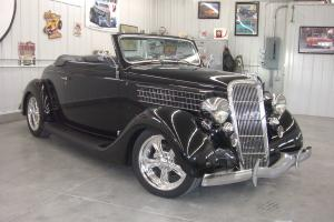 1935 (ALL STEEL) FORD CABRIOLET    NEVER BEEN ON EBAY