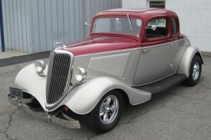 1934 Ford 5 Window Coupe, Hot Rod, Street Rod, 302 Automatic, Vintage Air
