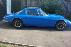 LOTUS ELAN FOR RESTORATION GOOD PROJECT