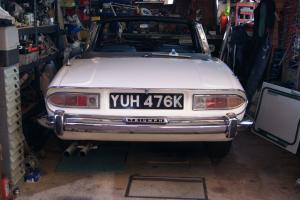 TRIUMPH STAG,tax exempt,p/x mini.