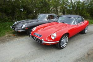 1972 E TYPE JAGUAR V12 CONVERTIBLE - TAX EXEMPT