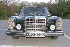 Mercedes 250 se automatic 1966 2 previous owners