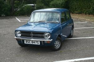 1977 LEYLAND CARS MINI CLUBMAN 1100 BLUE